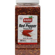 Badia Crushed Red Pepper, 3 Pound Bottle -- 4 per case
