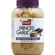 Badia Minced Garlic in Water, 32 Ounce -- 6 per case