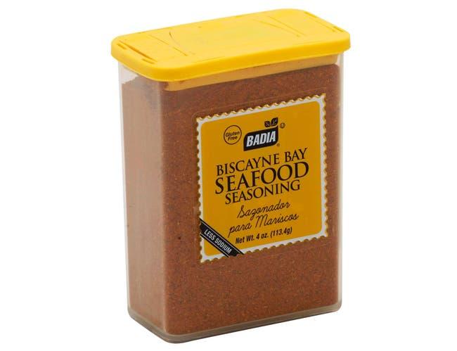 Badia Biscayne Bay Seafood Seasoning, 4 Ounce -- 12 per case