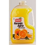 Badia Orange Bitter Naranja Agria, 128 Fluid Ounce Bottle -- 4 per case