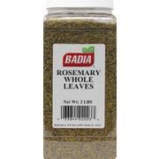 Badia Whole Rosemary Leaves, 2 Pound Bottle -- 4 per case