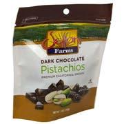 Commodity Nutmeats Premium Dark Chocolate Pistachios, 5 Ounce -- 10 per case