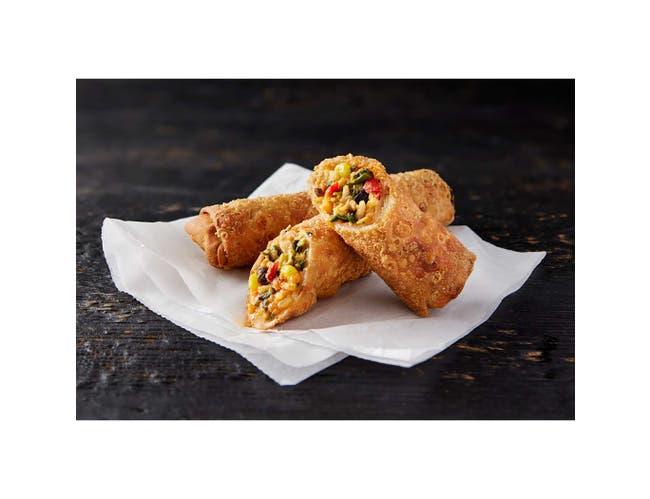 Schwans Minh Southwest Chicken Zing Egg Roll - Appetizer, 3 Ounce -- 60 per case.