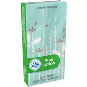 Puffs Plus To Go Clip Facial Tissue, 10 count per pack -- 144 per case.