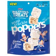 Kelloggs Rice Krispies Treats Poppers Cookies N Creme Marshmallow Square, 5 Ounce -- 6 per case