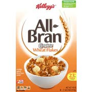 Kelloggs All Bran Complete Wheat Flakes Cereal, 18 Ounce -- 10 per case