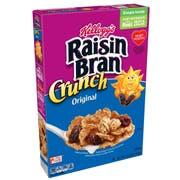 Kelloggs Original Crunch Raisin Bran Cereal, 15.9 Ounce -- 10 per case