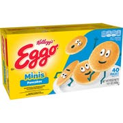 Kelloggs Eggo Mini Buttermilk Pancakes, 40 per pack -- 8 packs per case