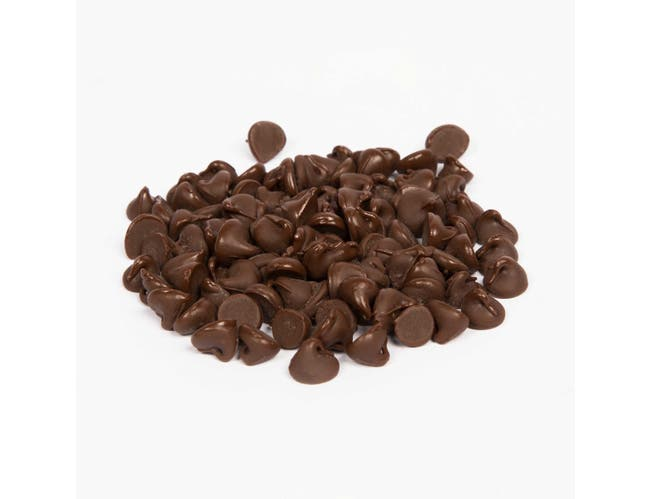 Ambrosia Semi-Sweet Real Chocolate Drop Chips, 25 Pound -- 1 each