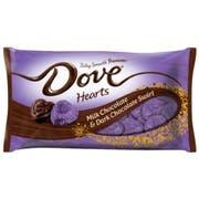 Dove Valentines Milk Chocolate and Dark Chocolate Swirl - Display Ready Case, 7.94 Ounce -- 24 per case