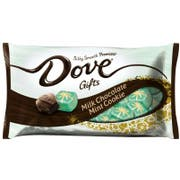 Dove Promises Christmas Mint Cookie Milk Chocolate - Display Ready Case, 7.94 Ounce -- 24 per case