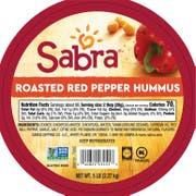 Sabra Red Pepper Hummus, 5 pound -- 1 each.