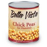 Furmanos Chick Peas for Hummus, 110 Ounce -- 1 each