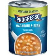 Progresso Macaroni and Bean Soup, 19 Ounce -- 12 per case.