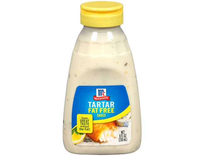 Golden Dipt Fat Free Tartar Sauce, 8 Fluid Ounce -- 6 per case.