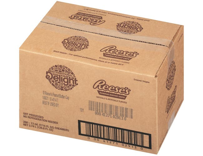International Delight Reeses Peanut Butter Cup, 0.43 Ounce -- 288 per case