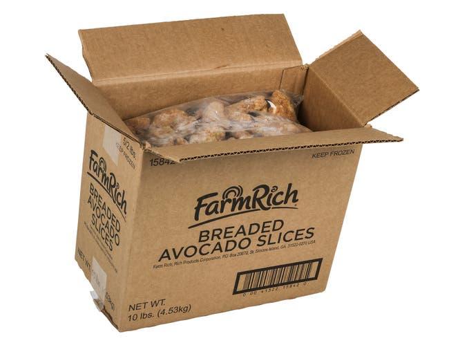 Farm Rich Breaded Avocado Slice, 2 Pound -- 5 per case.