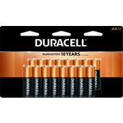 Duracell AA Alkaline Personal Power Batteries, 16 count per pack -- 12 per case.