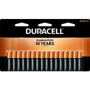Duracell AAA Alkaline Personal Power Batteries, 16 count per pack -- 12 per case.