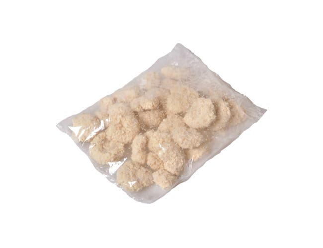 King and Prince Imitation Breaded Shrimp, 8 Ounce -- 12 per case.