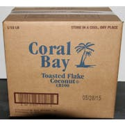 Coral Bay Flake Toasted Coconut, 10 Pound -- 1 each.