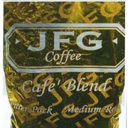 JFG Medium Roast Coffee Cafe Blend - Filter Pack, 1.5 Ounce -- 42 per case.