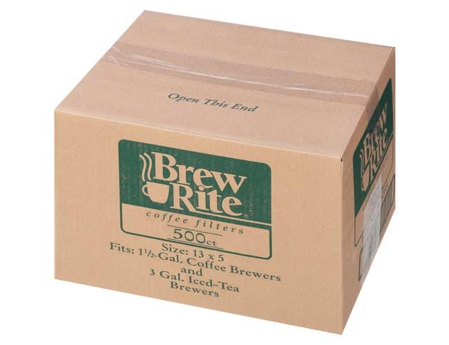 JFG Coffee and Tea Filter U3 -- 1000 per case.