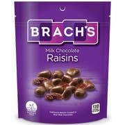Brachs Milk Chocolate Covered Raisin, 6 Ounce -- 8 per case.