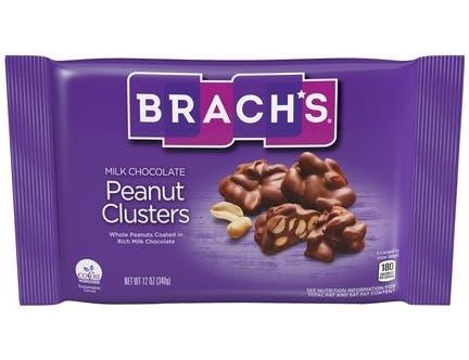 Brachs Milk Chocolate Peanut Clusters, 12 Ounce -- 12 per case