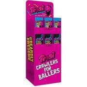 Trolli Sour Brite Crawlers and Weird Beards Gummi Candy -- 72 per case
