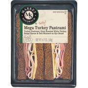 Deli Express Market Mega Turkey Pastrami, 6.7 Ounce -- 8 per case.