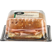 Deli Express Market Everything Bagel, 7.1 Ounce -- 8 per case.