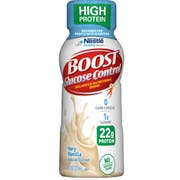 BOOST Glucose Control High Protein Vanilla Nutritional Drink, 8 Fluid Ounce - 4 count per pack -- 4 packs per case