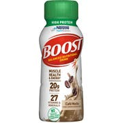 BOOST High Protein CafeMocha Nutritional Drink, 8 Fluid Ounce - 6 count per pack -- 4 packs per case