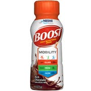 BOOST Rich Chocolate Mobility Nutritional Drink, 8 Fluid Ounce - 6 count per pack -- 4 packs per case