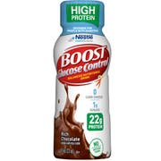 BOOST Glucose Control High Protein Chocolate Nutritional Drink, 8 Fluid Ounce - 4 count per pack -- 4 packs per case