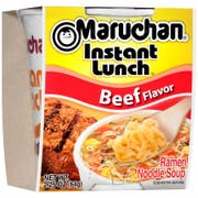 Maruchan Instant Lunch Beef Flavor -  2.25 oz. cup, 12 per case