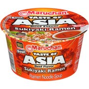 Maruchan Taste of Asia Sukiyaki Ramen Bowl, 3.66 Ounce -- 6 per case.