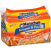Maruchan Ramen Noodle Soup Chicken Flavor -- 3 oz. package, 24 per case