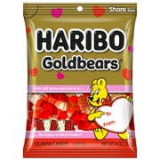 Haribo Gold Bears Confectionery Valentines Gummi Candy, 4 Ounce -- 12 per case