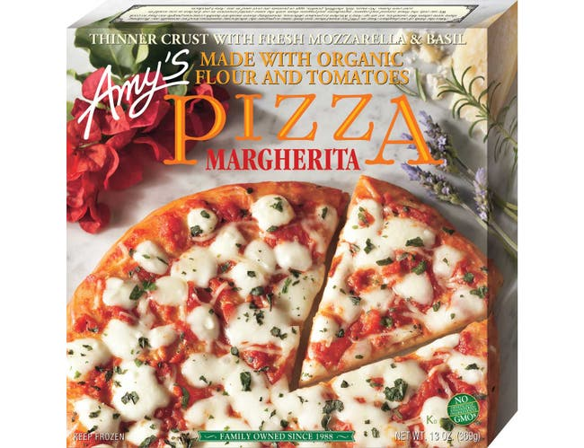 Amys Organic Margherita Pizza, 11 Ounce -- 8 per case