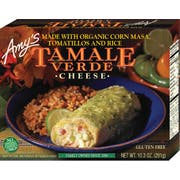 Amys Organic Cheese Tamale Verde, 10.3 Ounce -- 12 per case