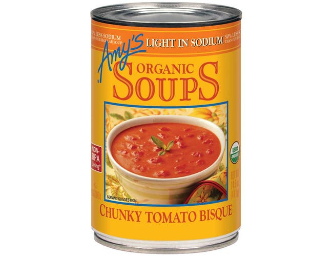 Amys Organic Chunky Tomato Bisque, 14.5 Ounce -- 12 per case