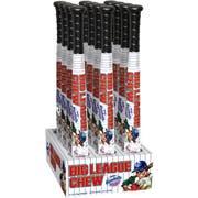Big League Chew Bat and Baseball Bubble Gum Combo Shipper -- 48 per case.