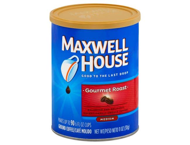 Maxwell House Gourmet Roast Ground Coffee, 11 Ounce -- 6 per case.