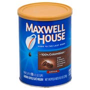 Maxwell House 100 Percent Colombian Coffee, 10.5 Ounce -- 6 per case.