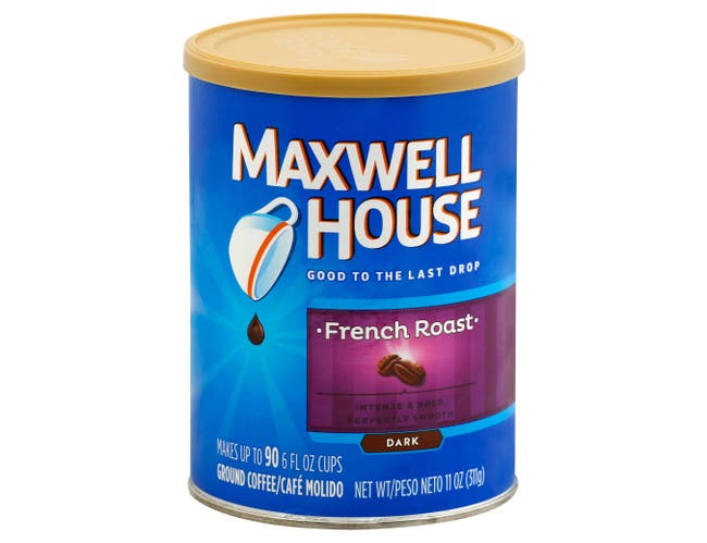 Maxwell House French Roast Ground Coffee, 11 Ounce -- 6 per case.