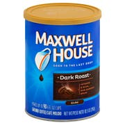 Maxwell House Dark Roast Coffee, 10.5 Ounce -- 6 per case.