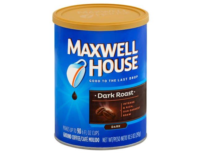 Maxwell House Dark Roast Coffee, 10.5 Ounce -- 6 per case.