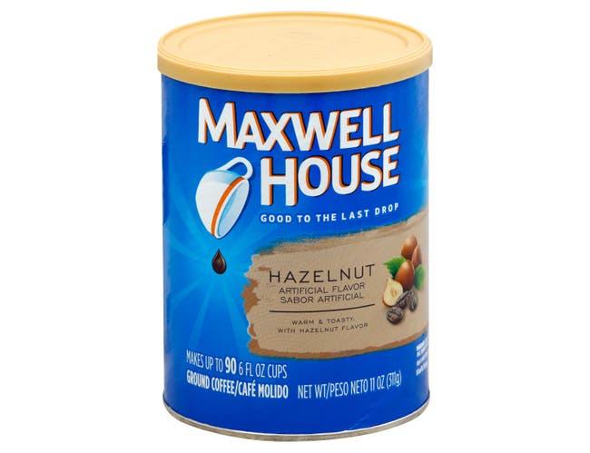 Maxwell House Hazelnut Ground Coffee, 11 Ounce -- 6 per case.